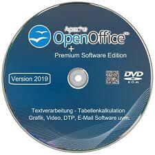 Open Office 2019 Premium für Windows 10, 8, 7 Schreibprogramm,Textverarbeitung