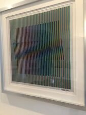Carlos Cruz Diez: INDUCTION CHROMATIQUE A DOUBLE FREQUENCE FPM2  #27