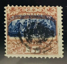 US STAMPS #119 Used With PF Certification CV=$210