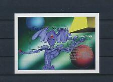 LN75040 Nicaragua 1994 alien sighting good sheet MNH