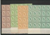 Finland Mint Never Hinged Stamps Blocks ref R 18369