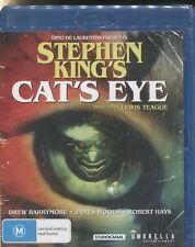 STEPHEN KING'S CAT'S EYE  -  Drew Barrymore, James Woods, Alan King - BLU-RAY