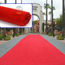 5m x 1m Red Carpet Runner Hollywood Awards Night Casino Wedding Decoration Party