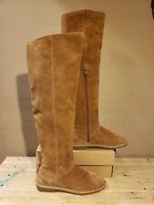 591137db1b2 UGG Australia LOMA Over The Knee Chestnut Women s Boots Size 6US