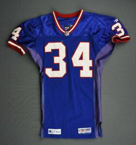 1998 Brandon Sanders New York Giants Game Worn Used Jersey Size 44 Arizona!