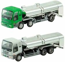 """Tomytec The Truck Collection """"2 Truck Set H"""" Tank Lorry 1/150 N scale New Japan"""