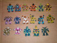 Lot of 17 Hasbro Takara Battle Beasts Action Figure 1986
