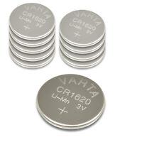 10x VARTA CR1620 3V Knopfzelle Lithium CR 1620, 10 Stück
