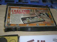 Gilbert's Erector Electrical Set c 1917 with Manual & Ob Rare