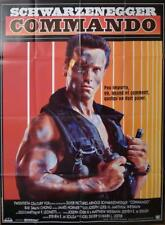 COMMANDO - SCHWARZENEGGER / ARMY - ORIGINAL LARGE FRENCH MOVIE POSTER