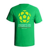 Mexico 70 Retro World Cup T-Shirt Vintage Football shirt Argentina 78