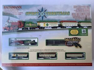 Bachmann Spirit of Christmas N-Scale Electric Train Set 24017