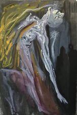 Salvador DALI La Divine Comédie de Dante L' Enfer Les Erynnies