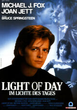 Light of Day - Im Lichte des Tages ORIGINAL A1 Kinoplakat M. J. Fox / Joan Jett