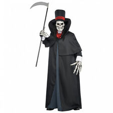 Dapper Death Ghoul Halloween Fancy Dress Outfit Costume - Size M-L