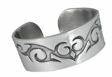 Tribal Spiral Pewter Cuff  Band Bracelet - New