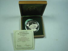 SINGAPORE $10 1979 SILVER PROOF TELE COMMUNICATION COA BOX DOLLAR CROWN COIN