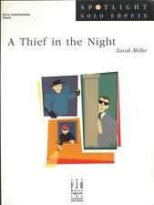 Thief In The Night Early Intermediate Piano Solo Sheet Music 2005 Sarah Miller