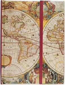 Journal Fold-Over Old World, Inc Peter Pauper Press,