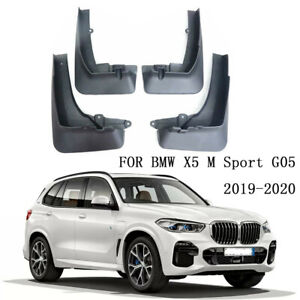 Genuine Set Splash Guards Mud Guards Flaps Fit For BMW X5 M Sport G05 2019-2020