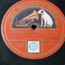 78rpm ENRICO CARUSO for you alone , single side