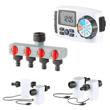 4-fach Bewässerungscomputer Bewässerungsuhr Bewässerungsautomat Rasen Sprengen