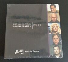 A&E 2011 Emmy FYC DVD Set NEW Promo FREE SHIPPING Various Shows SEALED