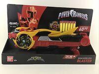 Power Rangers Ninja Super Steel Blaster Dart Gun Battle Sounds Bandai Sabans