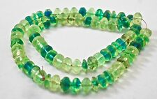 Trade Beads VASELINE Green/Blue Translucant