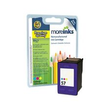 Moreinks Remanufactured HP 57 Tri-Colour Ink Cartridge for HP Printers (C6657A)