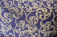 "Softline Kunas  purple fabric, 60"" Drapery and upholstery Fabric sold by yard"