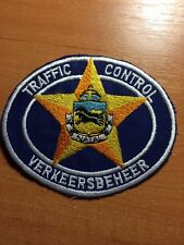 PATCH POLICE SOUTH AFRICA - VERKEERSBEHEER TRAFFIC - ORIGINAL!
