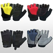 Cycling Gloves Bike Half Finger Bicycle Padded Finger Less Sports Motorcycle 607