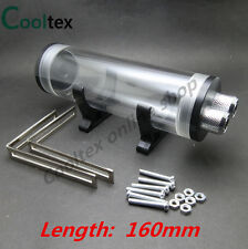 100% New 160mm Cylindrical Acrylic Water Tank For Computer Water Cooling Tank