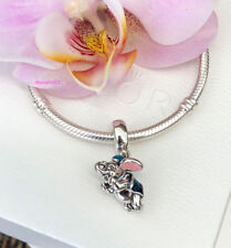 Pandora Disney Flying Dumbo Elephant Charm, Bracelet Bead, New, #792124ENMX