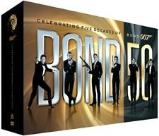 Bond 50: Celebrating Five Decades of Bond 007 (DVD, 2012, 23-Disc Box Set)