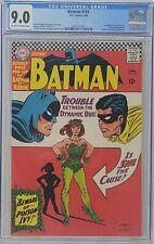 Batman #181 (Jun 1966, DC) CGC 9.0 🔥 1st Appearance of Poison Ivy