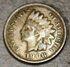 1906 Indian Head Cent! Rare High Grade Sharp! Nice Color! c266