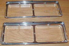 '76-'77 Cutlass Headlight Bezels Used OEM (4509)