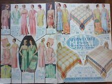 CATALOGUE MODE 1931 A LA PLACE CLICHY
