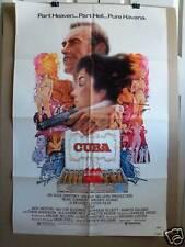 CUBA~1 SHEET~ORIGINAL~MOVIE POSTER~1979~SEAN CONNERY & BROOKE ADAMS