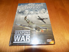 WEAPONS OF WAR Air-To-Air Combat Fighters Fighter History Planes Air WWII DVD