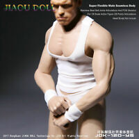 JIAOU DOLL 1/6 JOK-12D-YS Male Action Figure Strong Body Steel Skeleton Muscular