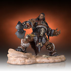 World of WARCRAFT WOW The Orc Chieftain DUROTAN Resin Statue Gentle Giant