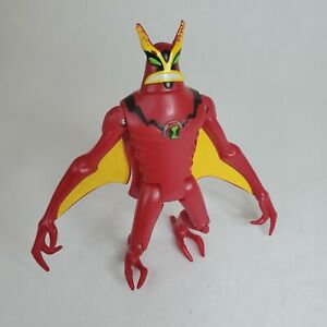 "Bandai 2008 Ben 10 4"" JetRay  Action Figure Jet Ray"