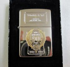 """HARLEY DAVIDSON 90TH ANNIVERSARY ZIPPO """"TURNING IT ON"""" DEALER ISSUE 99150-93ZF"""