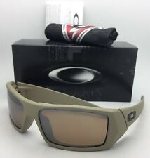 OAKLEY Sunglasses GASCAN 53-109 60-15 Cerakote Desert Sage with Tungsten Iridium