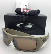 OAKLEY Sunglasses GASCAN 53-109 60-15 Cerakote Desert Sage with Tungsten Iridium