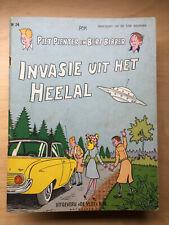 Piet Pienter en Bert Bibber 24 - Invasie uit het heelal - 1e druk (1965)