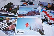 AVALANCHE ! rock hudson jeu 12 photos cinema lobby cards montagne ski 1978